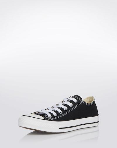 CONVERSE Sneaker 'Chuck Taylor All Star Ox' in schwarz / weiß: Frontalansicht
