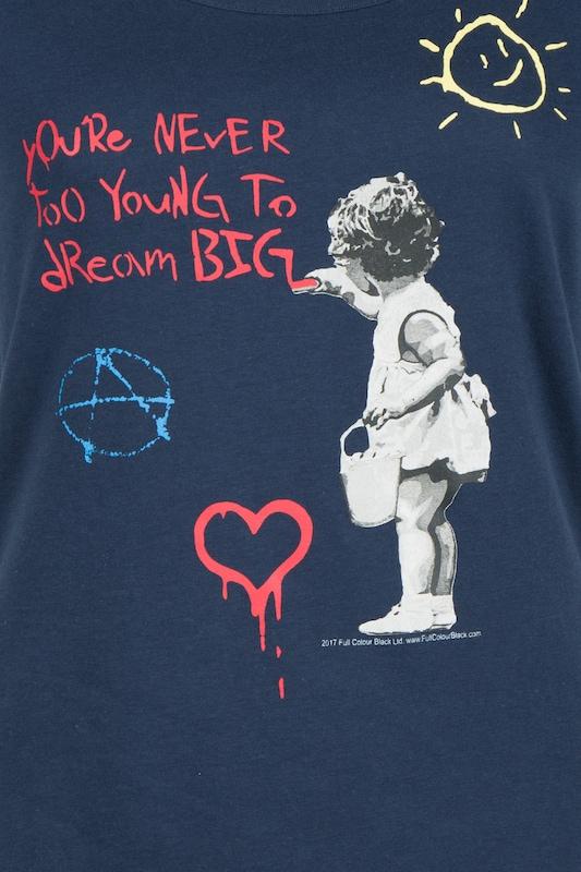 HOMEBASE 'Brandalised by Homebase' T-Shirt T-Shirt T-Shirt in blau   marine   dunkelblau  Freizeit, schlank, schlank 6474ab