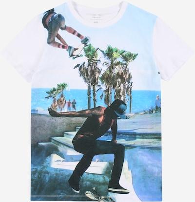 NAME IT T-Shirt in blau / weiß, Produktansicht