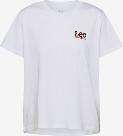 Lee Shirt in weiß, Produktansicht