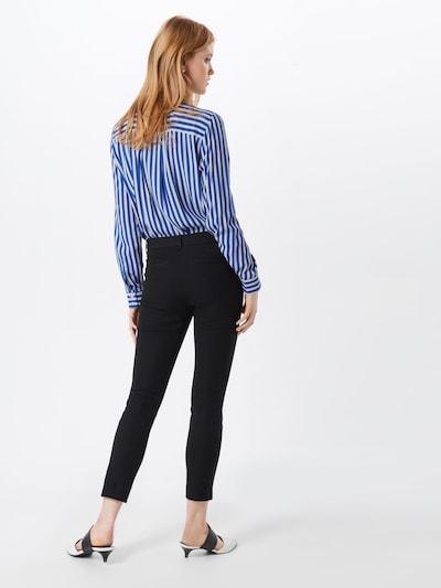 GAP Pants 'V-SKINNY ANKLE BISTRETCH' in Black: Rear view