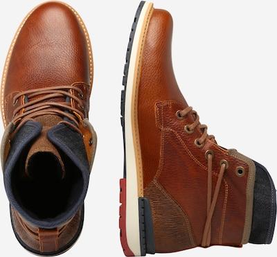 Suvarstomieji batai iš BULLBOXER , spalva - karamelės: Vaizdas iš šono
