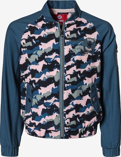 RED HORSE Blouson 'Gigi' in taubenblau / grau / pastellpink / schwarz, Produktansicht