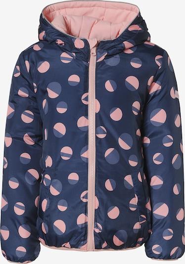 ESPRIT Winterjacke in dunkelblau / rosa, Produktansicht