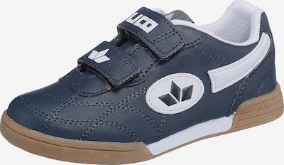 LICO Klettschuh 'Bernie' in taubenblau / weiß, Produktansicht