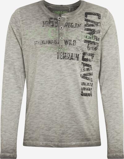CAMP DAVID T-Shirt en gris clair, Vue avec produit