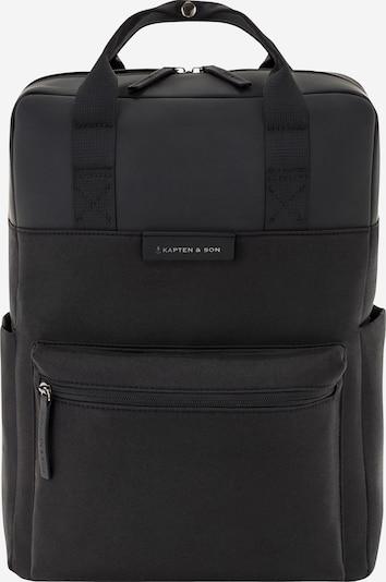 Kapten & Son Rucksack 'Bergen 11L' in schwarz, Produktansicht