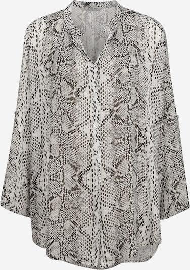 Z-One Bluse 'Philippa' in grau / dunkelgrau, Produktansicht