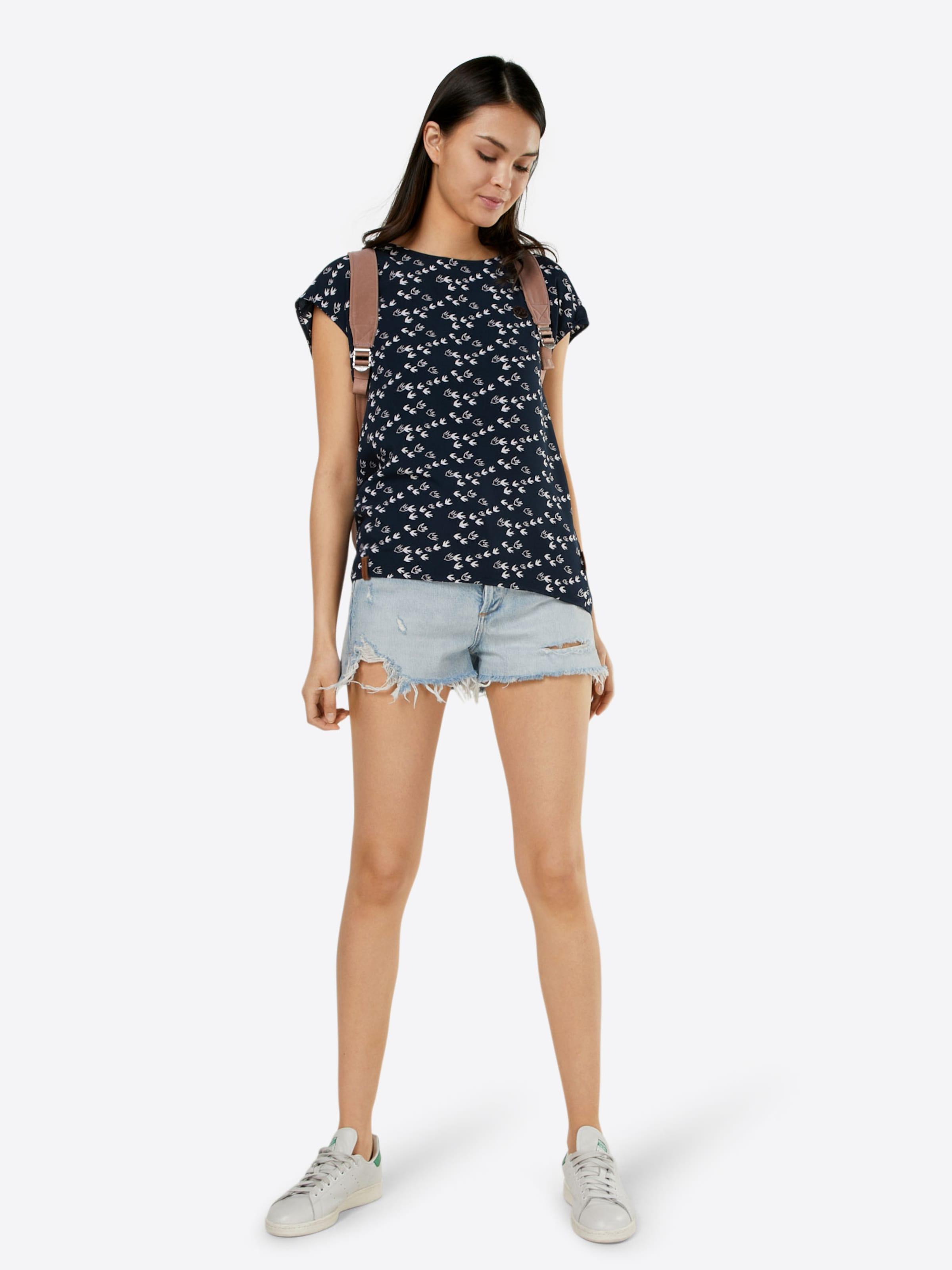 naketano Shirt mit Muster Günstig Kauft Besten Platz YbL9fRY