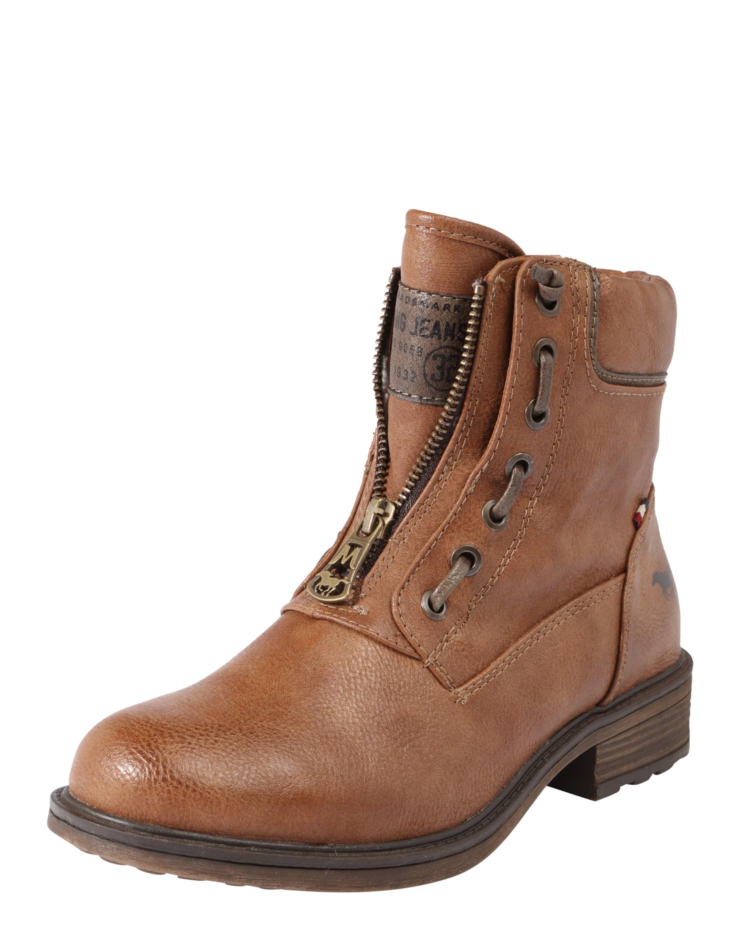 Haltbare Mode billige Schuhe im MUSTANG | Bootie im Schuhe Leder-Look Schuhe Gut getragene Schuhe f3bded