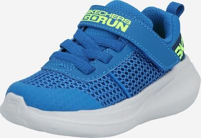SKECHERS Schuhe 'Go Run Fast' in blau / limette, Produktansicht
