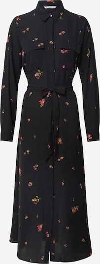 ONLY Dolga srajca 'ONLADIE LIFE L/S MIDI SHIRT DRESS WVN'   črna barva, Prikaz izdelka