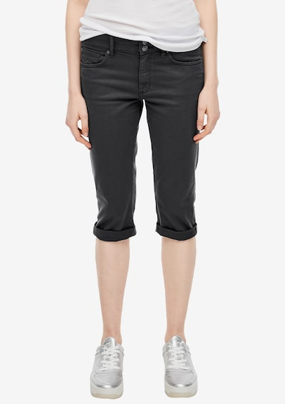 Q/S designed by Jeans in black denim, Modelansicht