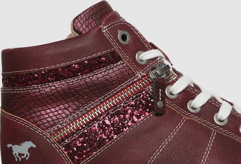 MUSTANG | | MUSTANG Turnschuhemit Glitzerdetails 1ce8ab