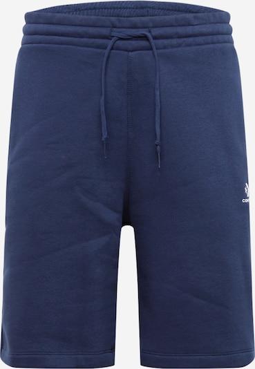 Pantaloni CONVERSE pe albastru închis: Privire frontală