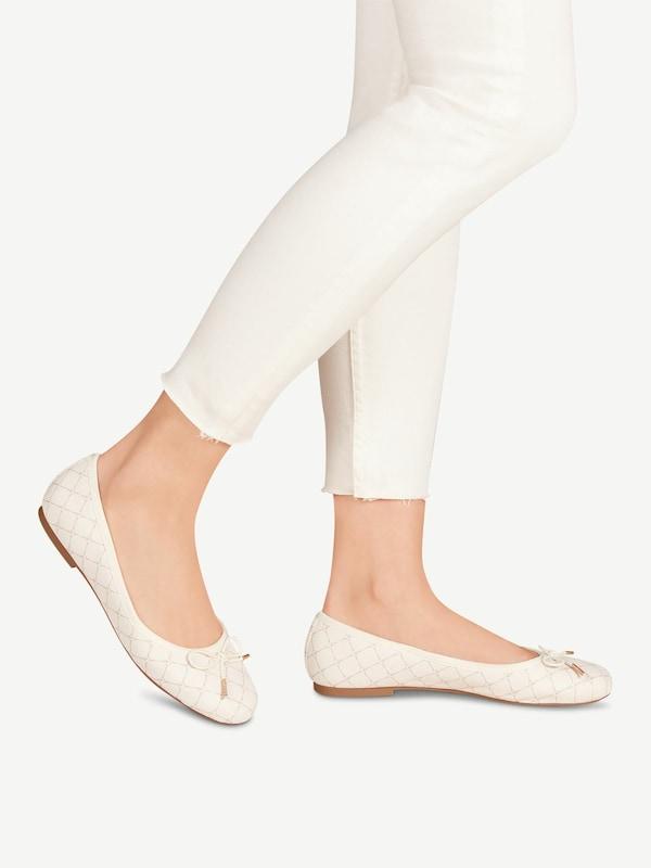 TAMARIS Ballerina in beige | ABOUT YOU