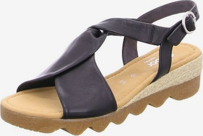 GABOR Sandalen in dunkelblau, Produktansicht