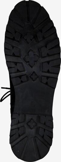 s.Oliver Stiefeletten in schwarz: Ansicht von unten