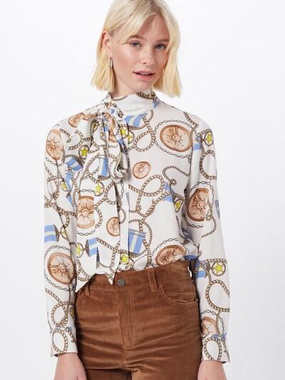 Rich & Royal Bluse in mischfarben / weiß, Modelansicht