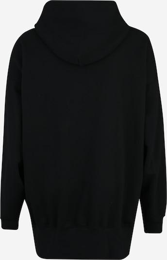 Urban Classics Curvy Sweatshirt in schwarz: Rückansicht