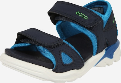 ECCO Offene Schuhe 'Biom Raft' en dunkelblau, Vue avec produit