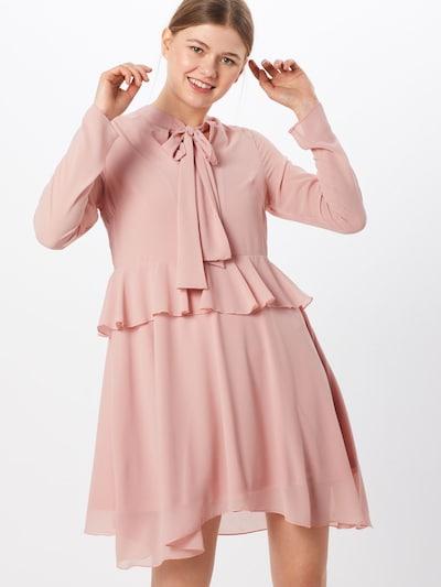 Boohoo Sukienka koszulowa w kolorze różowy pudrowym: Widok z przodu