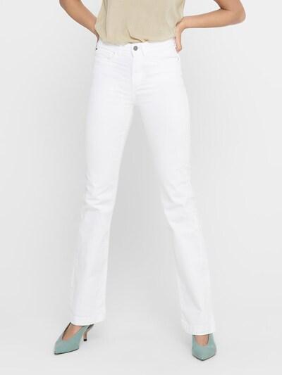 JACQUELINE de YONG Jeans 'Tonia' in de kleur Wit, Modelweergave