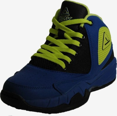 PEAK Basketballschuhe 'Monster' in blau / grün, Produktansicht