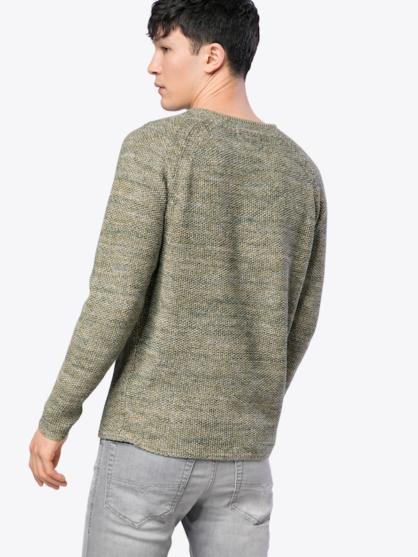Revolution Pullover Knit Structure