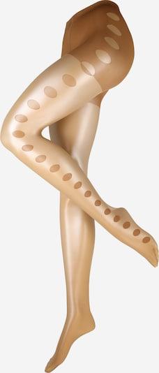 FALKE Collants 'Glamour' en beige, Vue avec produit