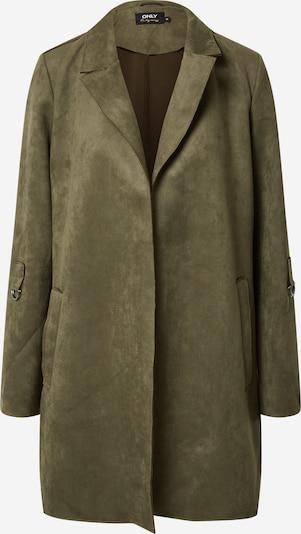 ONLY Přechodný kabát - tmavě zelená: Pohled zepředu