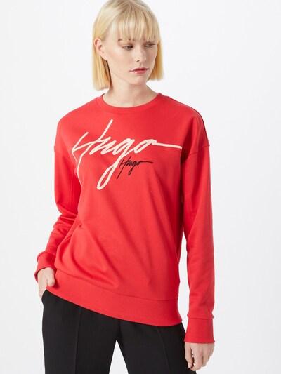 HUGO Sweatshirt 'Nacinia' in rot, Modelansicht