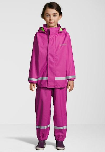 ZigZag Regenanzug 'Rieti' in pink: Frontalansicht