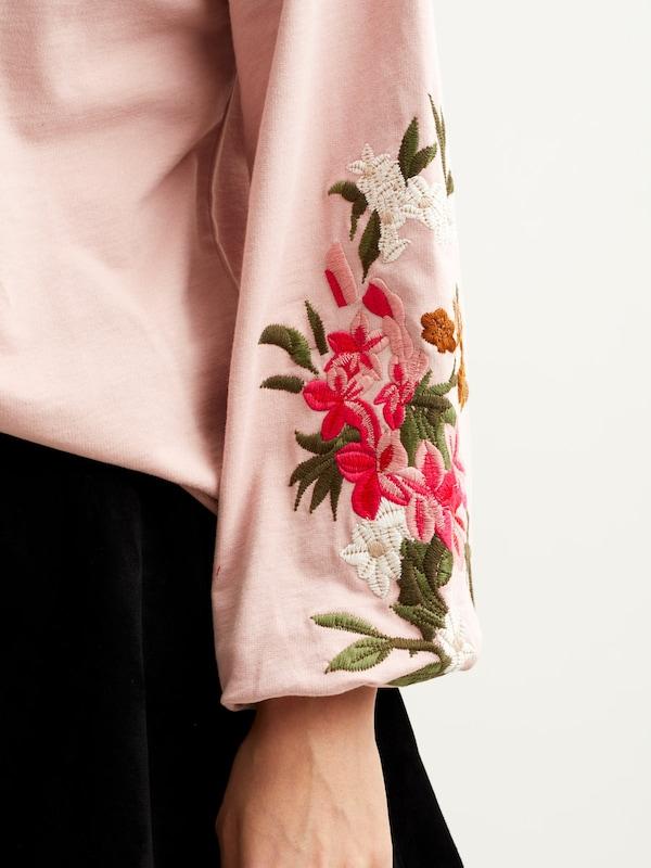 VILA Blumenmuster Pullover