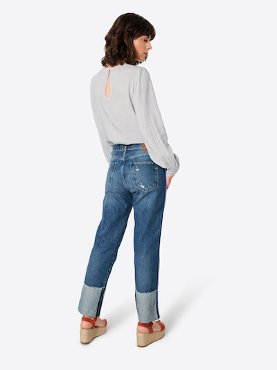 REPLAY Jeans 'MARILLARD' in blue denim: Rückansicht