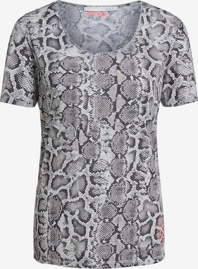 OUI T-Shirt in grau / schwarz, Produktansicht