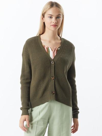 ONLY Cardigan 'Jennie' in khaki, Modelansicht