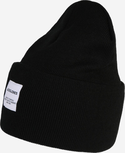 JACK & JONES Mütze 'LONG KNIT BEANIE' in schwarz, Produktansicht