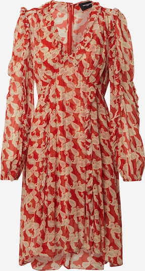 The Kooples Kleid 'ROBE' in nude / rot, Produktansicht