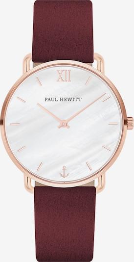 Paul Hewitt Uhr 'Miss Ocean Line' in rosegold / bordeaux, Produktansicht