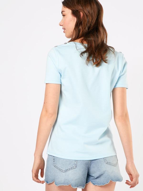 Clair shirt Bleu En Nümph 'azaria' T OZPXkui