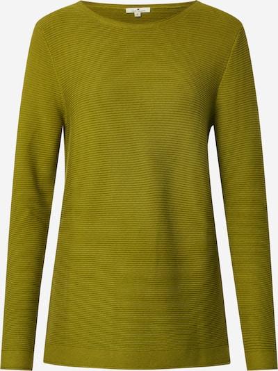 TOM TAILOR Pullover 'New Ottoman' in dunkelgrün, Produktansicht