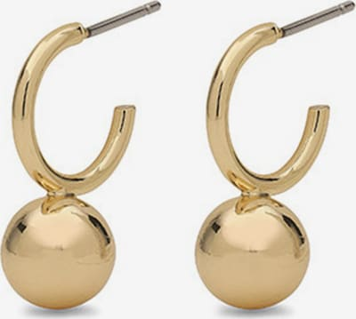Pilgrim Earrings 'Poe' in gold, Produktansicht
