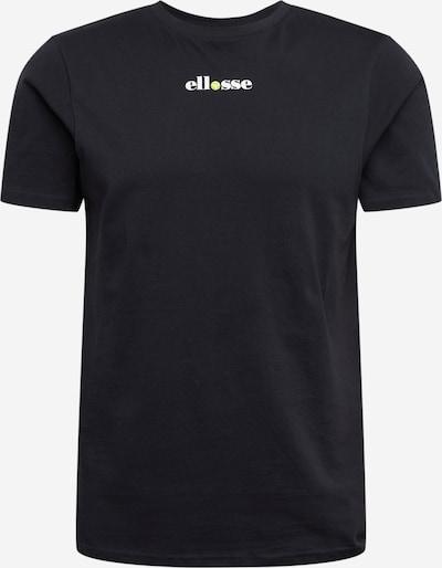 ELLESSE Shirt 'RAPALLO' in gelb / schwarz / weiß, Produktansicht