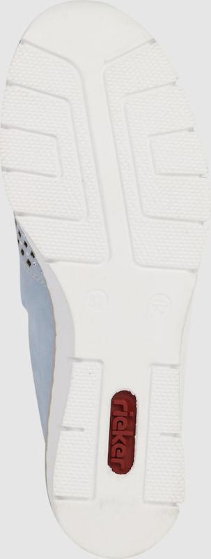 RIEKER Slipper mit Cut-Out Muster