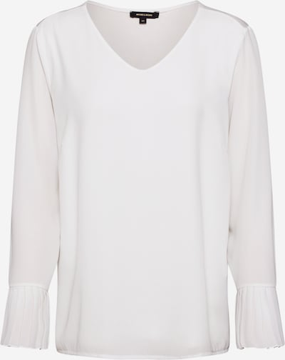 MORE & MORE Damen - Bluse 'Pleated Blouse Shirt' in weiß, Produktansicht