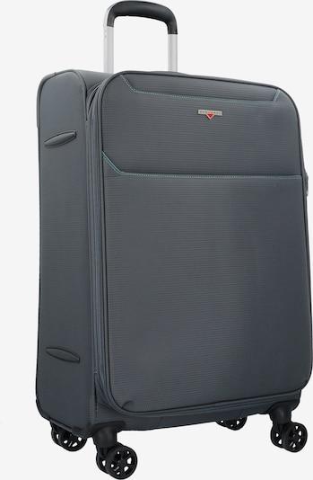 Hardware Kofferset in dunkelgrau, Produktansicht