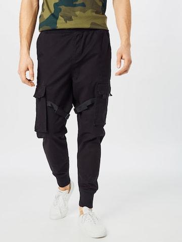 Urban Classics Cargo Pants 'Tactical' in Black