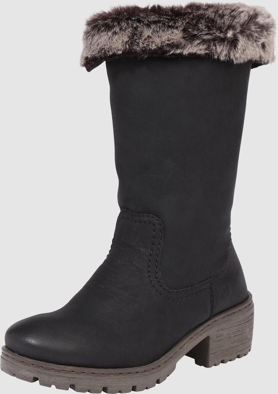 RIEKER Stiefel mit Webpelzbesatz Günstige und langlebige Schuhe