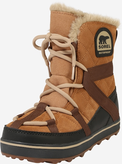 SOREL Snow Boots 'Glacy Explorer' in Camel / Brown, Item view